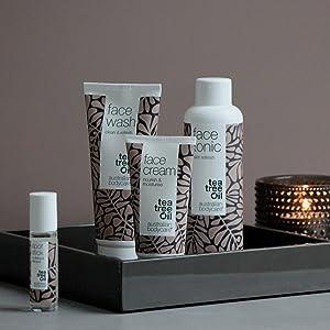 Australian Bodycare Face Kit 4 produkter mot oren hud, finnar och pormaskar