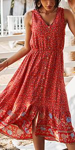 floral maxi dress womens maxi dress womens Printed dress short sleeve dress for women dresses