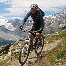 Joncom Adult Bike Helmet with Light Adjustable Lightweight Road Cycling Helmet CPSC Certified for Mountain Road Bicycle Helmet for Men Women with Detachable Visor