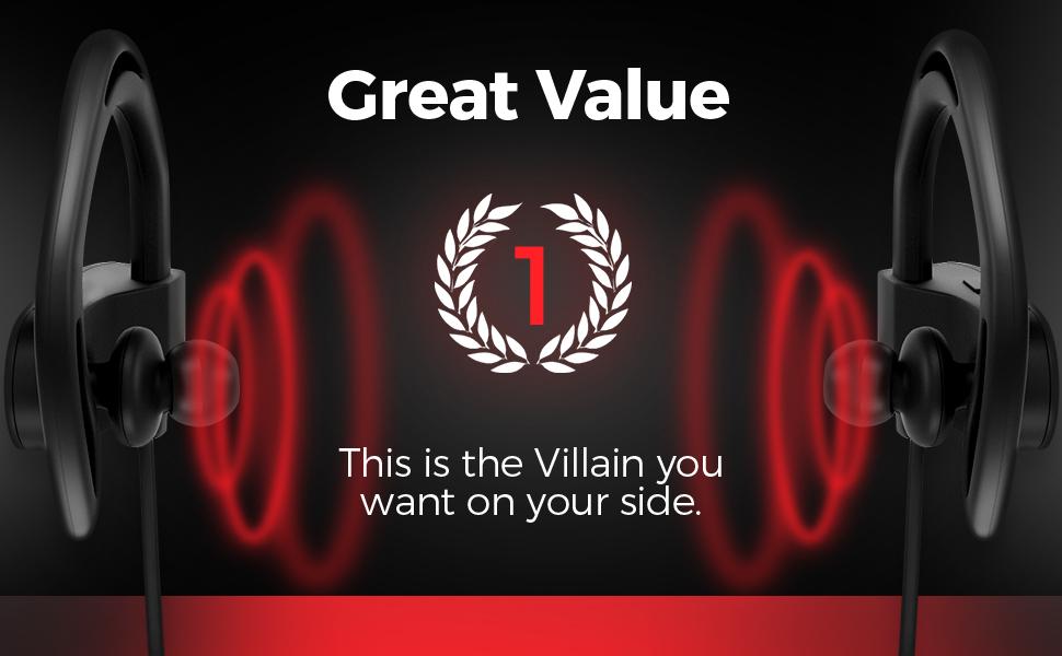 budget villain 2019 bluetooth headphones