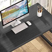 Storage space under the desk