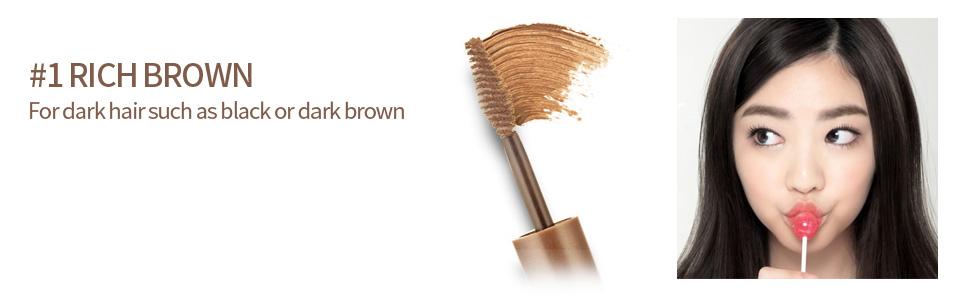 Color My Brows 4.5g #1 Rich Brown