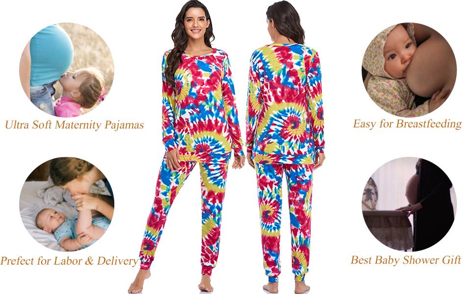 women nursing pajamas