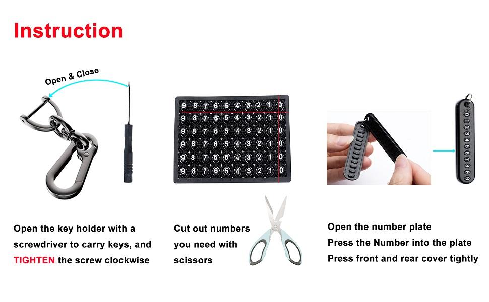 keychain for women men
