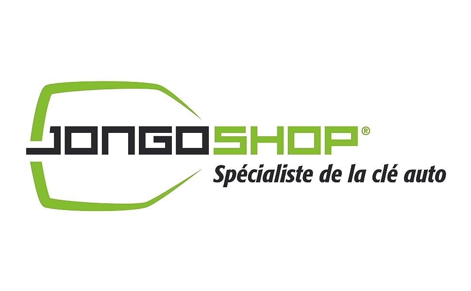 Logo jongo specialiste cle auto clef boitier plip voiture toutes marques