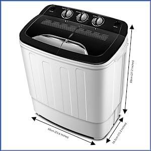 TG23 Portable Washing Machine
