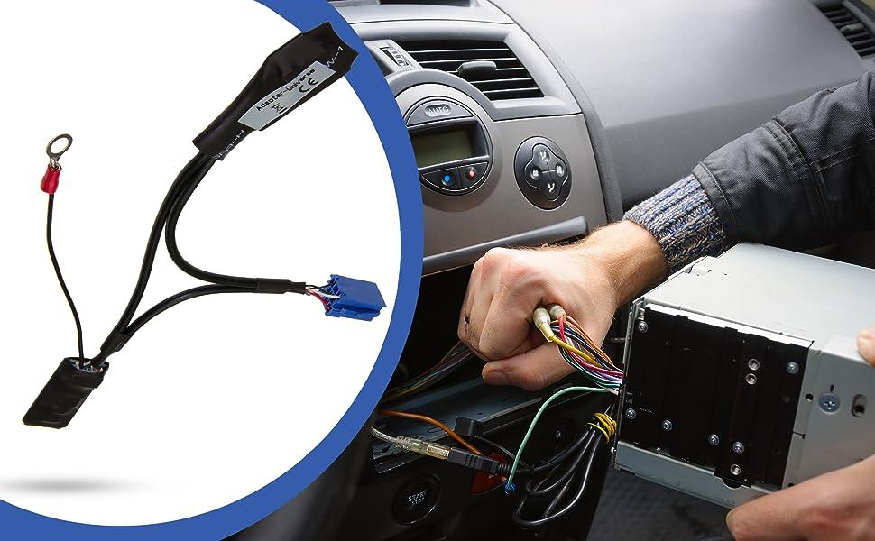 Adapter Universe Kfz Auto Radio Bluetooth Adapter Iso Elektronik