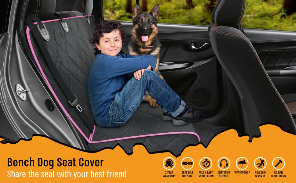 dog seat covers for cars back seat