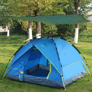 Azarxis Lona de Tienda de Campa/ña Impermeable Toldo de Camping Port/átil Huella Hoja de Suelo Refugio Manta de Sombra Estera para Playa Acampar Picnic