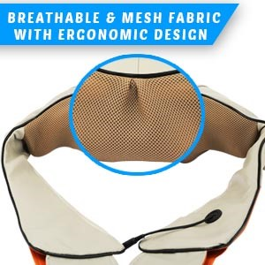 breathable mesh fabric ergonomically designed