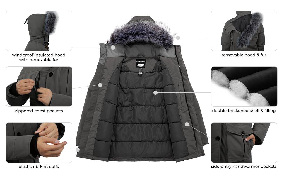 mens puffer coat
