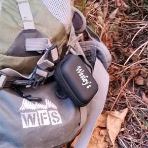 EVA Case has a Backpack Clip