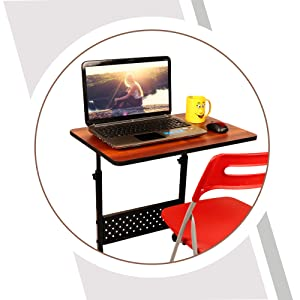 B08SLPSQSQ- MULTI - TABLE Multi-Purpose Height Adjustable Portable and Movable Laptop- SPN-FOR1