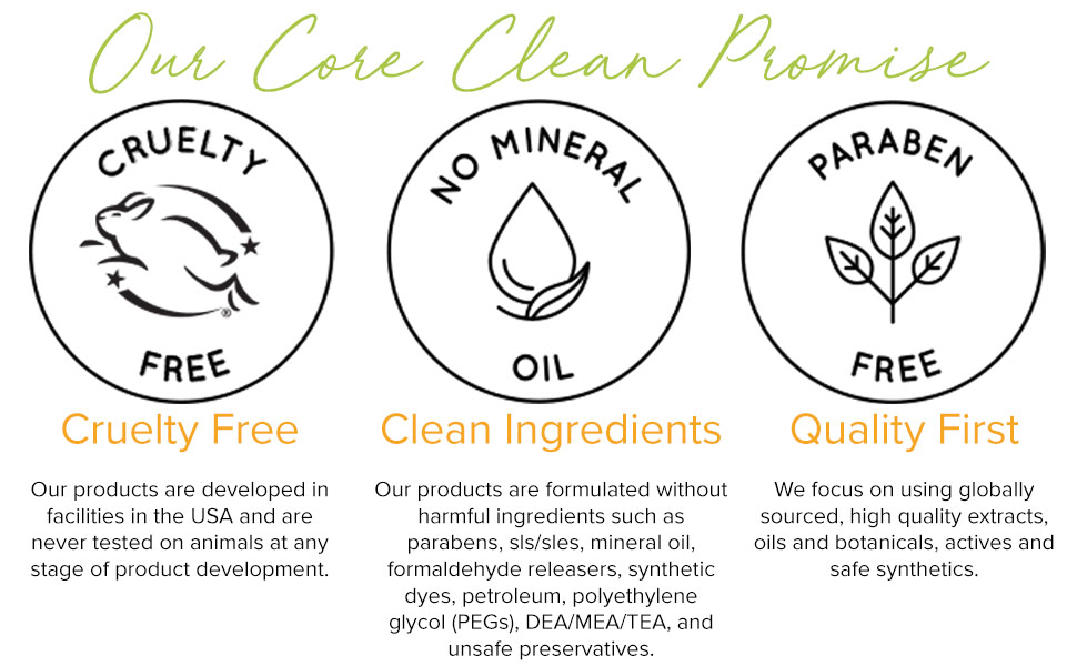 Our Core Clean Promise