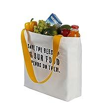 canvas jute shopping bags