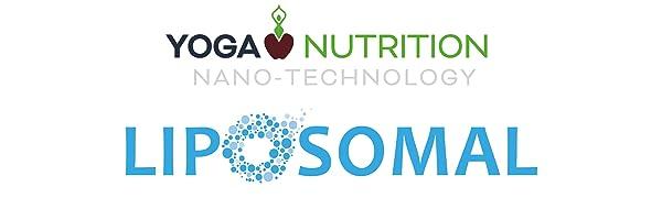 yoga nutrition nano technology liposomal logo