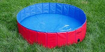 Fold Dog Pool Foldable Baby Dog Pet Bath Swimming Pool