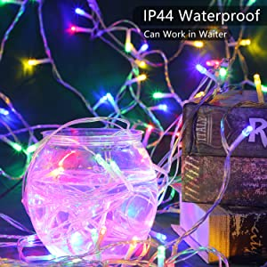 waterproof curtain lights