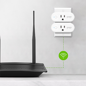 smart outlet socket works with alexa google home