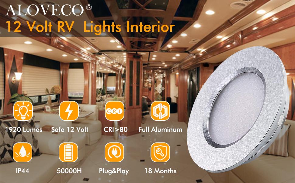 rv lights interior