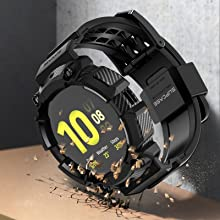 SUPCASE Unicorn Beetle Pro Case για Galaxy Watch Active 2 2019 Rugged Protective Strap Band