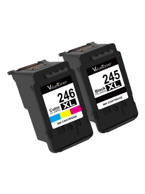 Canon 245 246 245xl 246xl ink cartridges combo pack