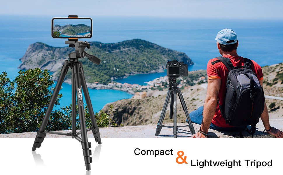 Portable Tripod with a Mobile phone holder