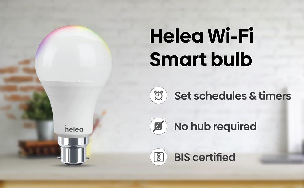 Helea Smart Bulb Features