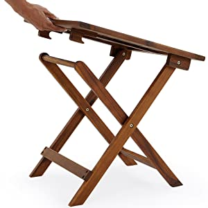 Table Ronde Pliante Bois Table En Table Basse Ronde Bois Pliable ...