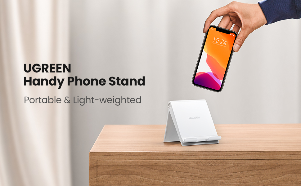 UGREEN Phone Stand Holder Desk Cell Phone Dock Compatible for iPhone