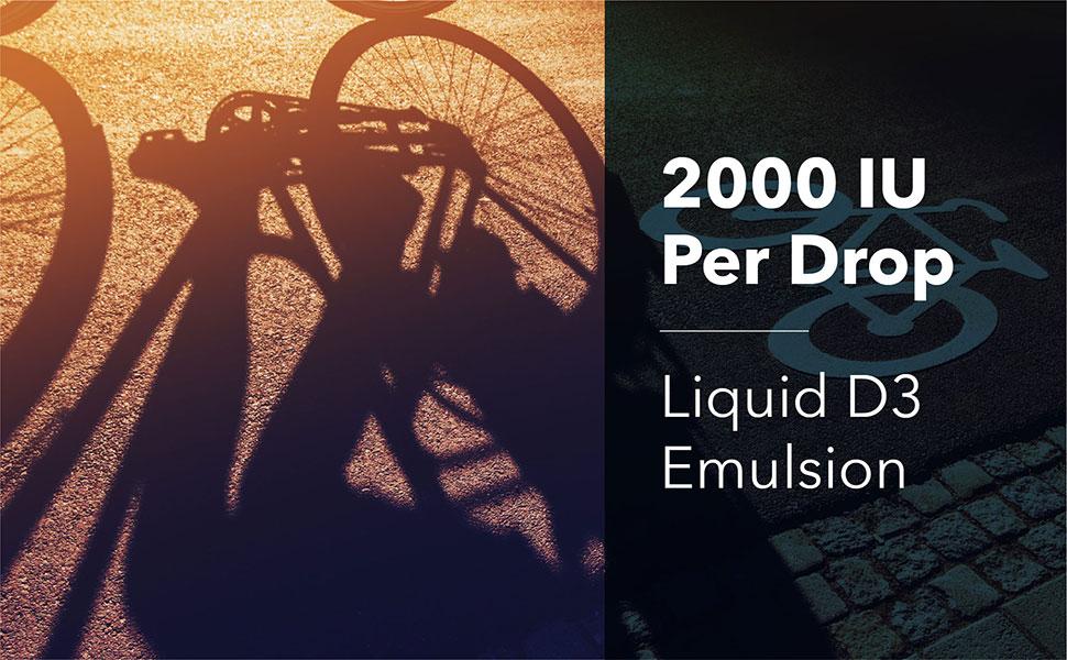 Amazon.com: Designs for Health 2000 IU Vitamin D Drops ...