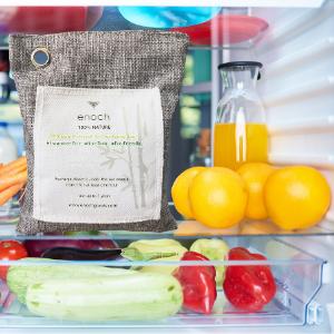 natural non toxic fragrance free chemical deodorizer safe refrigerator refrigerated fresh bag odor