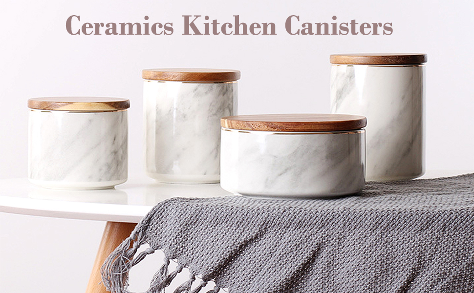 Ceramics Kitchen Canisters