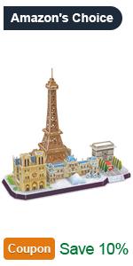 skyline 3d puzzles for adults paris city puzzle