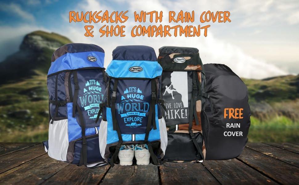Polestar lightweight large backpack rucksacks India  hiking trekking travel luggage backpack bags
