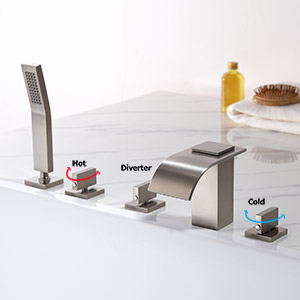 roman tub faucet brass