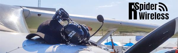ANR aviation headset