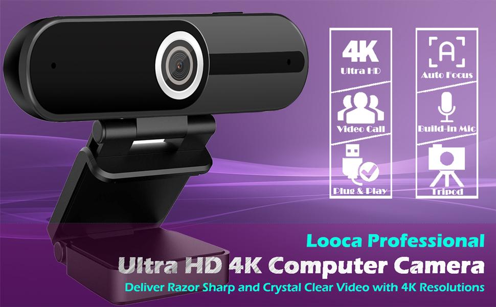 Ultra HD 4K Computer Camera