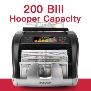 200 Bills Hopper Capacity