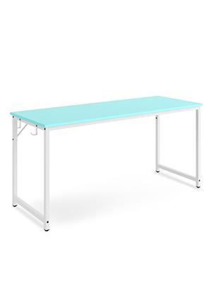 blue desk