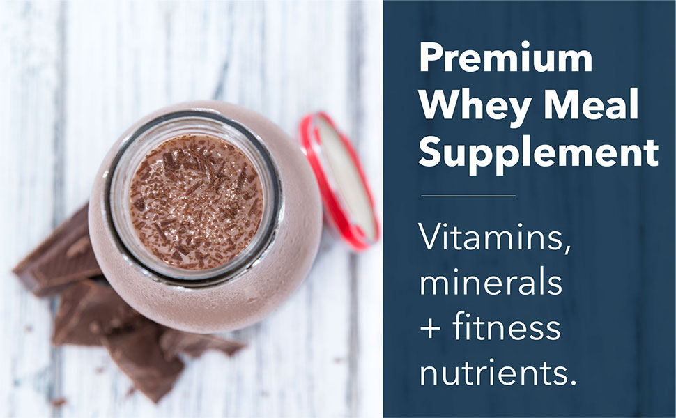Premium Whey Meal Supplement