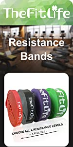 TheFitLife Pull Up Bands Set