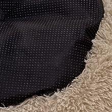 non skid rubber dot bottom keep position