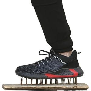 Ucayali Zapatos de Seguridad Hombre Trabajo Cómodas, Zapatillas de ...