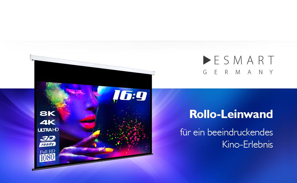 eSmart Germany Rollo Leinwand MIROLO