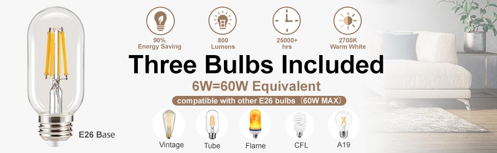 Farmhouse Floor Lamp Bulbs Included