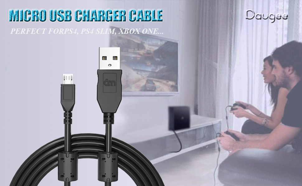 PS4 controller charger cable