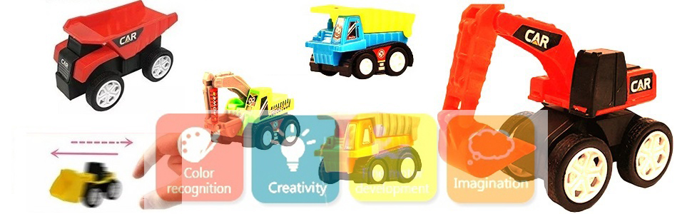 scaled car toy for boys, model car set for kids, kids play set, play set truck for 2-5 year old boys