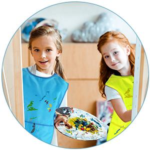 paint smocks for kids