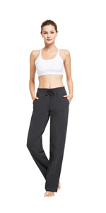 Amazon.com: BALEAF Womens Active Yoga Sweatpants Workout ...